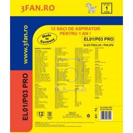 Sac aspirator EL01/P03 PRO